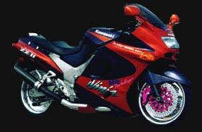Speeddemons com - 1993 Kawasaki Turbo ZX-11
