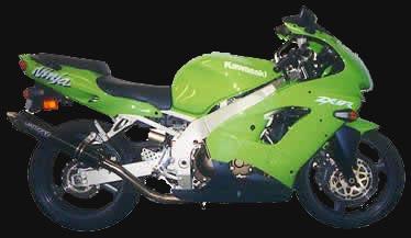 Speeddemons com - 1998 Kawasaki ZX 9R