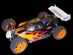 Inferno RC car