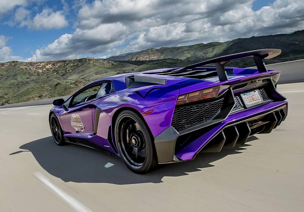2017 lamborghini aventador sv coup in rare viola parsifae. Black Bedroom Furniture Sets. Home Design Ideas